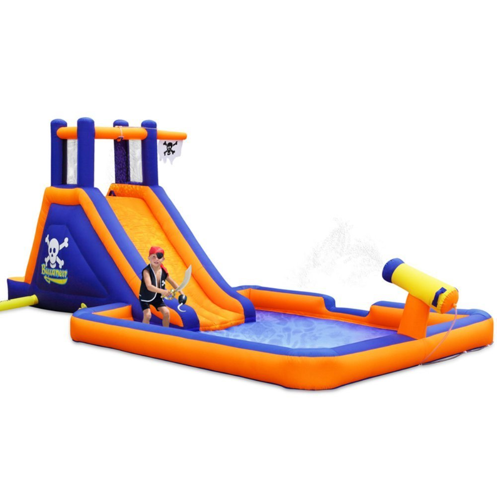 Pirate Themed Inflatable Water Slide