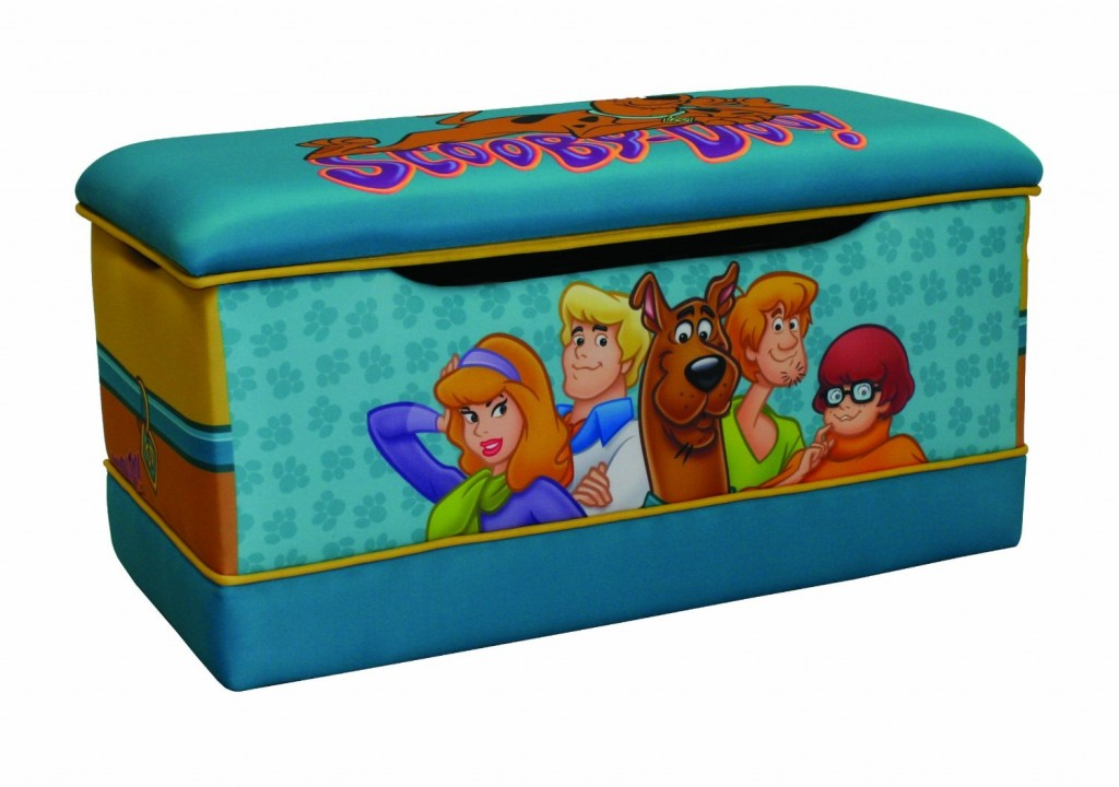 Amazing Warner Brothers Scooby Doo Paws Deluxe Toy Box