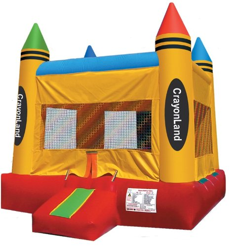 crayon bounce house for sale