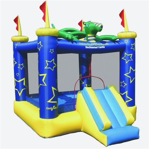 Magic Dragon Inflatable Bouncing Castle With Front Slide