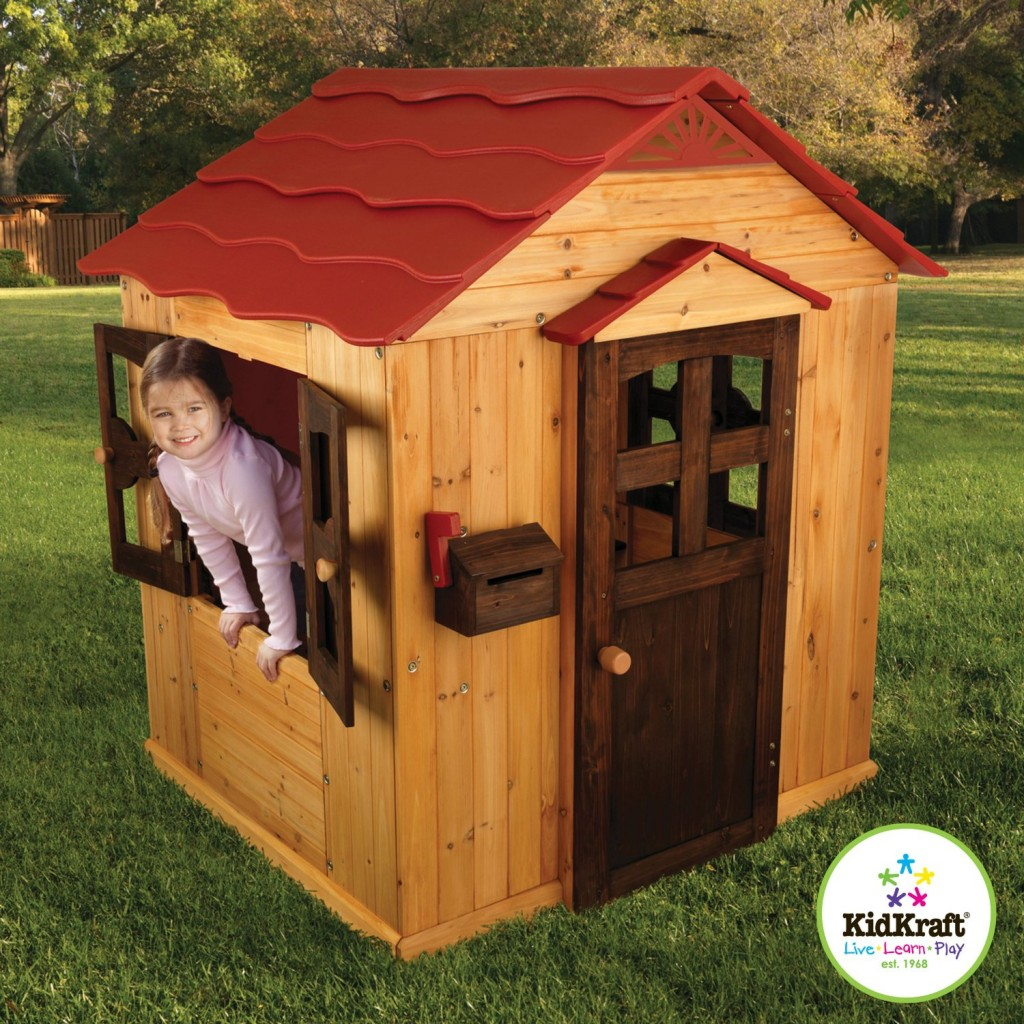 KidKraft Outdoor Toddler Playhouse