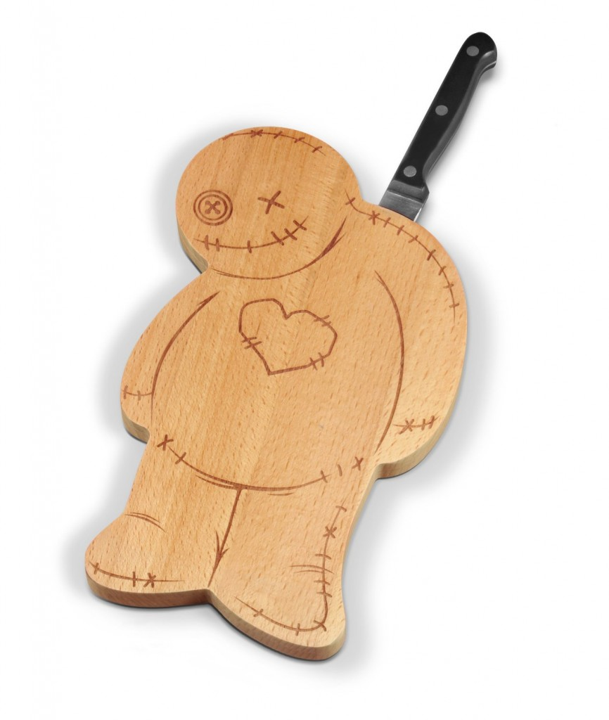 funny voodoo cutting board
