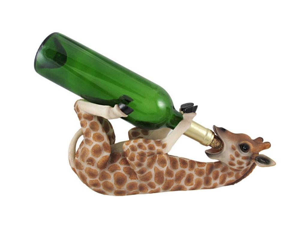 funny giraffe Wine Bottle Holder