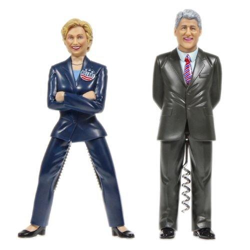 The Hillary & Bill Clinton Combo Set