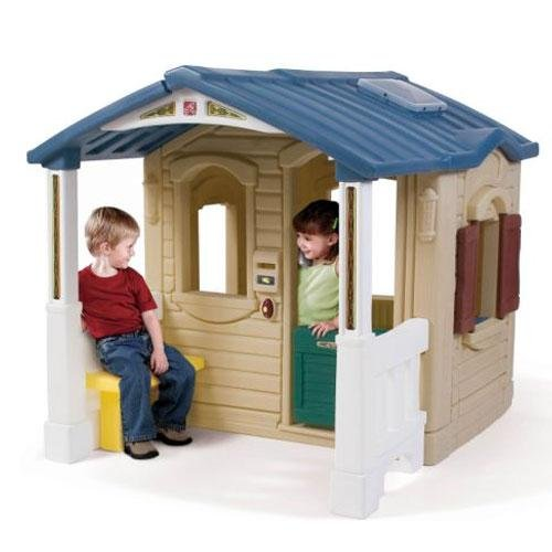 toddler playhouse with porch