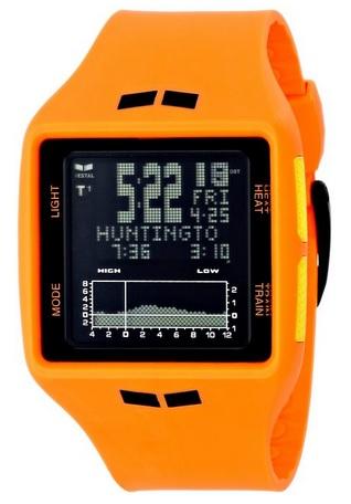 Japanese Quartz Orange Watch