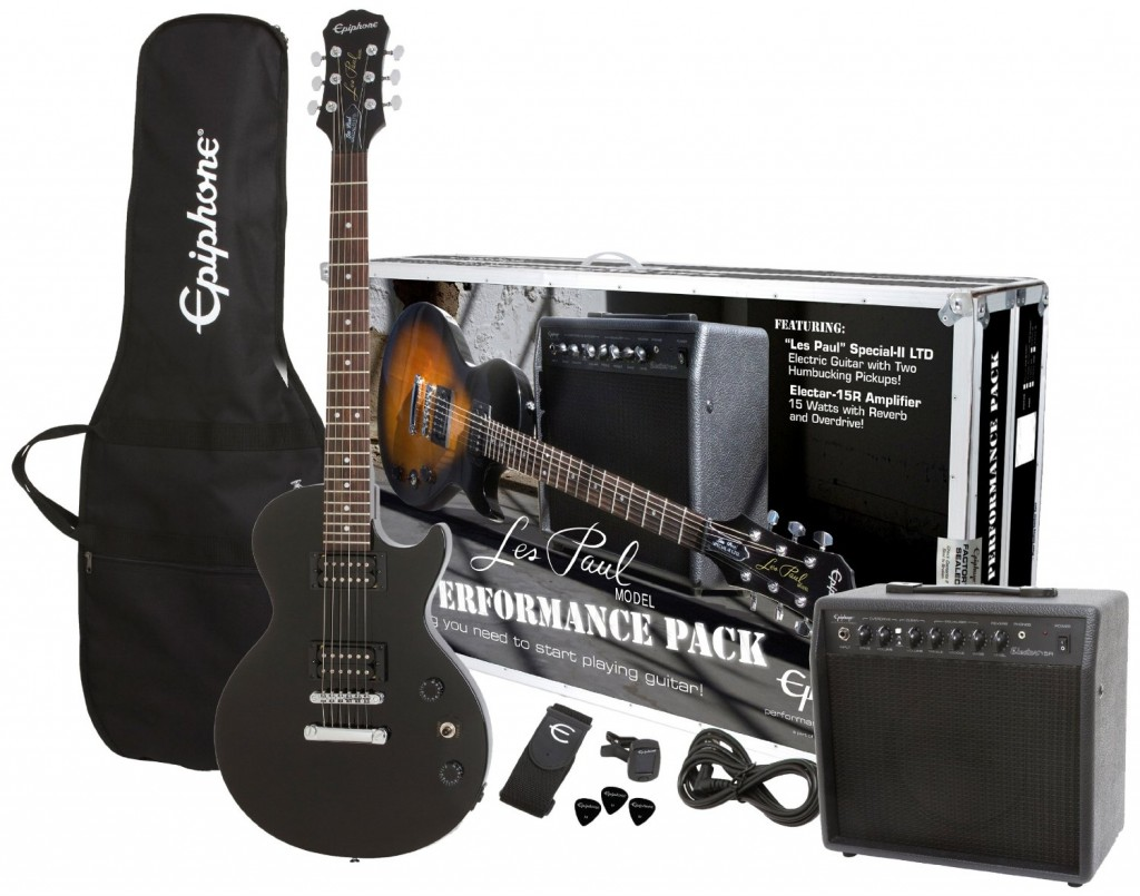 Electric Guitar Pack for Teens Ebony