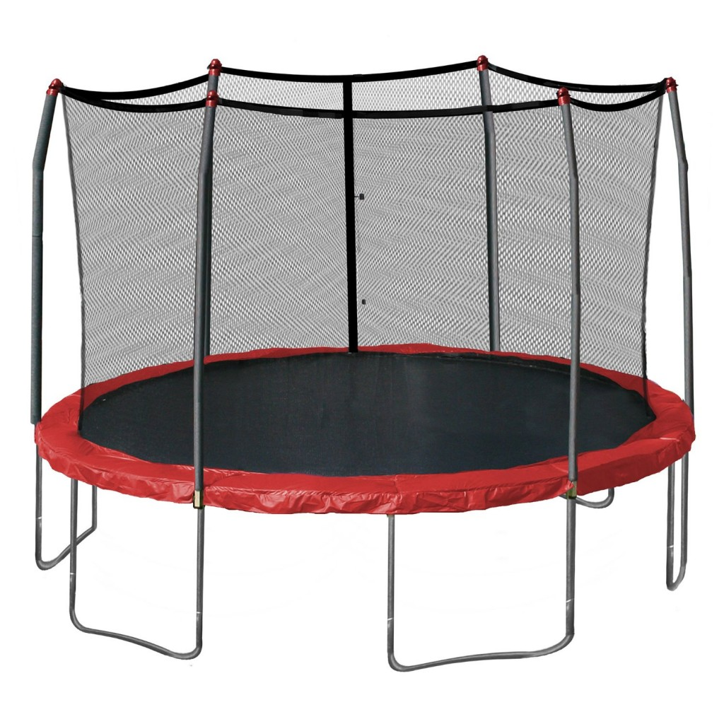 fun outdoor trampoline