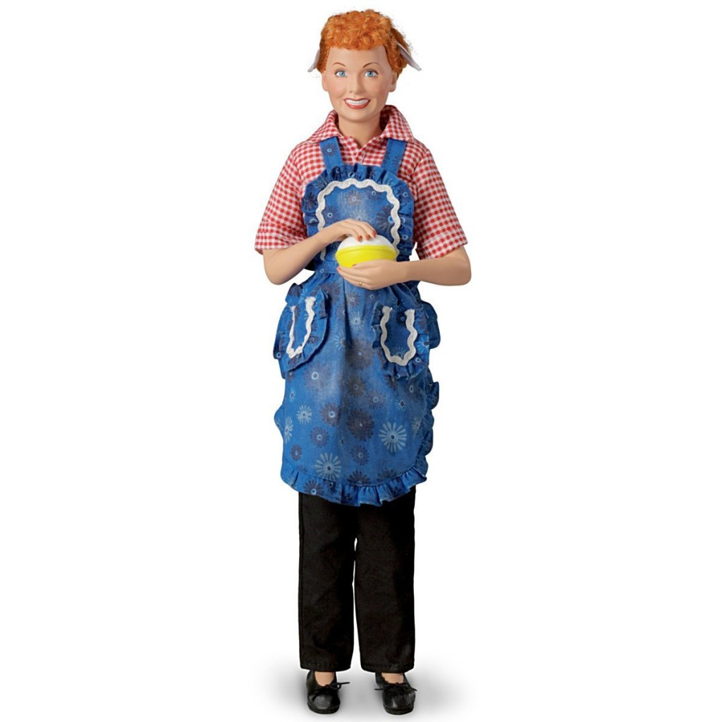 Funny I LOVE LUCY Dolls