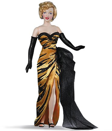 Marilyn Monroe Vinyl Portrait Doll