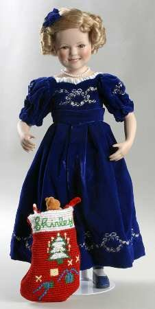 Shirley Temple Complete Christmas Doll Collection