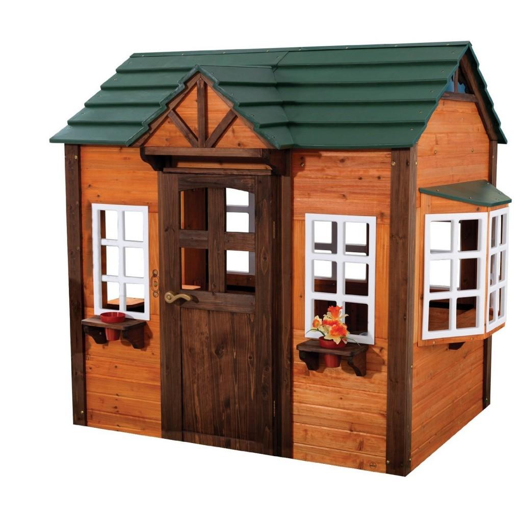 adorable wooden playhouse