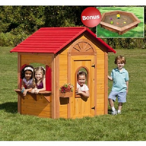 Cedar Wood Child Playhouse