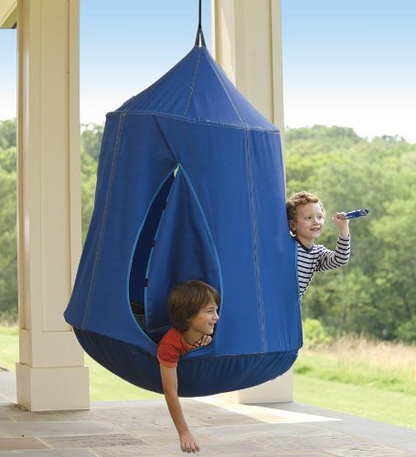 fun hanging tent for boys