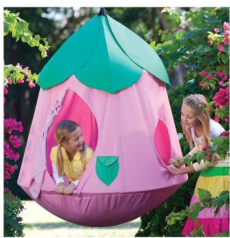 cute hanging tent for girls