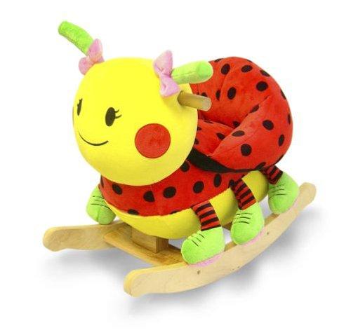 ladybug plush rocker