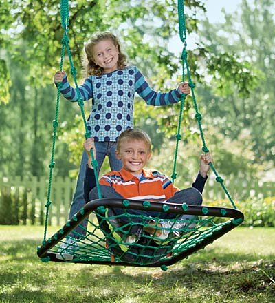 hanging Platform Swing for kids