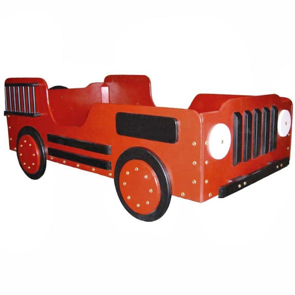 Cute Fire Truck Toddler Bed