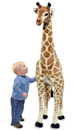 cute plush giraffe for babies