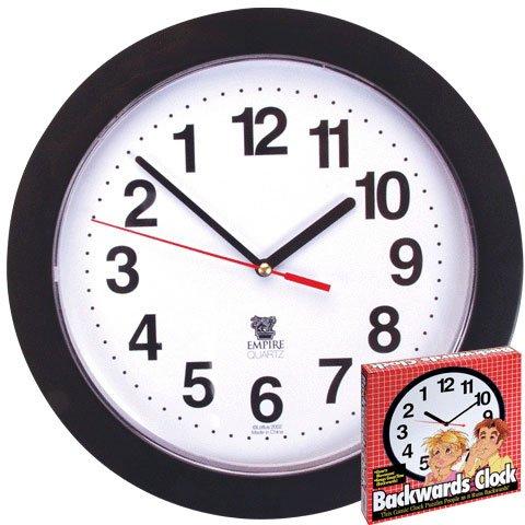 Funny Backward Clock