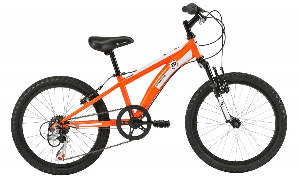 beautiful 20 inch orange bike for boys