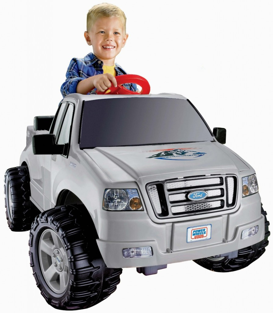cool power wheels truck ride on