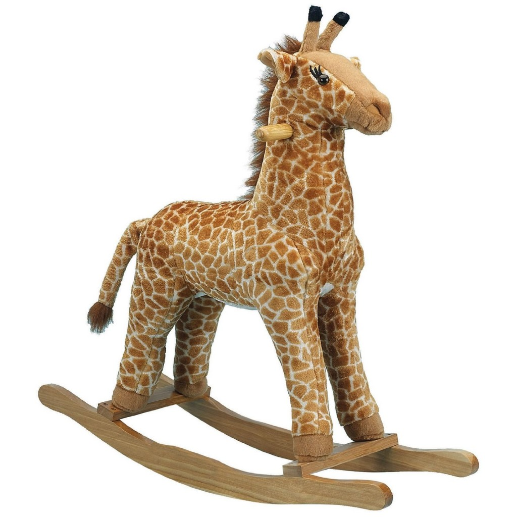 Giraffe Plush Rocker
