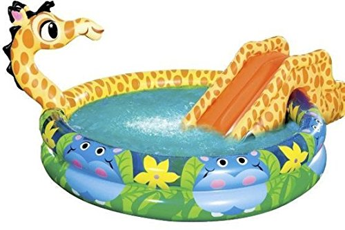 inflatable giraffe pool for kids