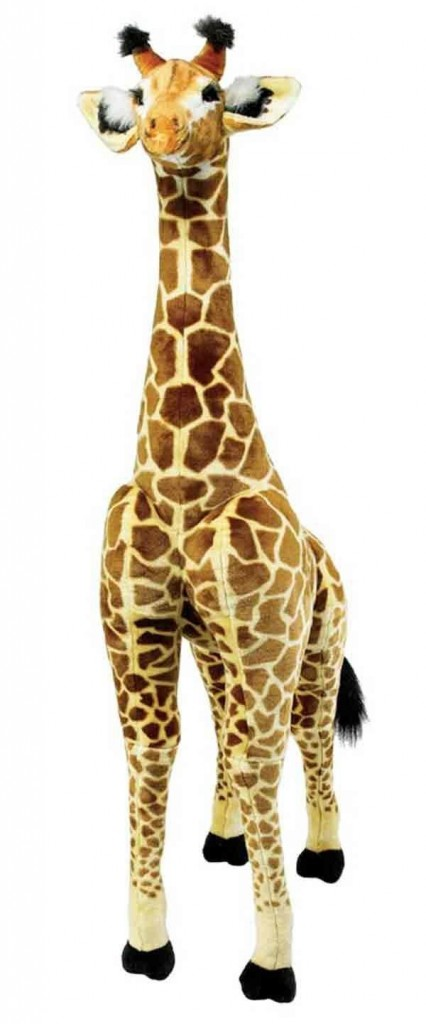 tall giraffe stuffed animal