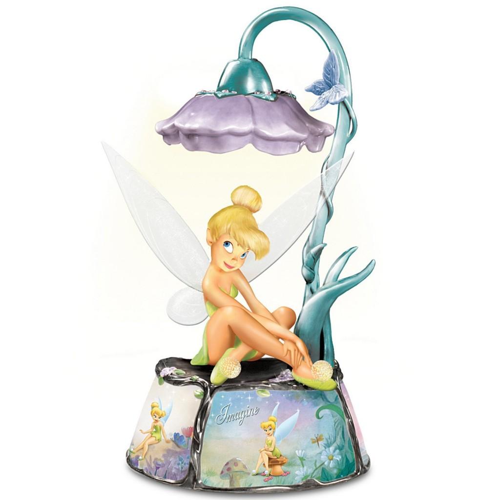 cute tinkerbell lamp for girls