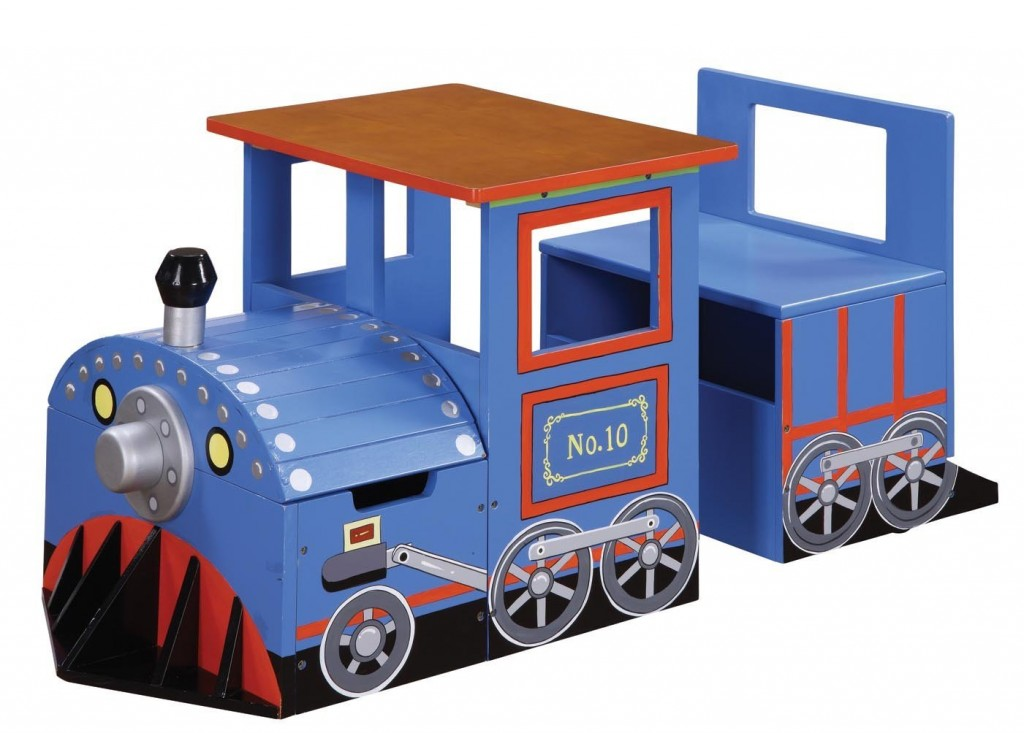Train Writing Desk for Kids
