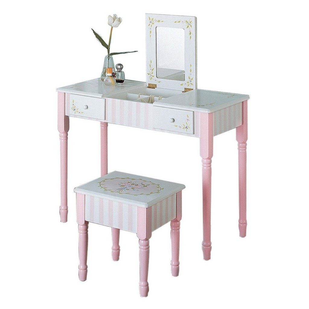 cute vanity table for girls