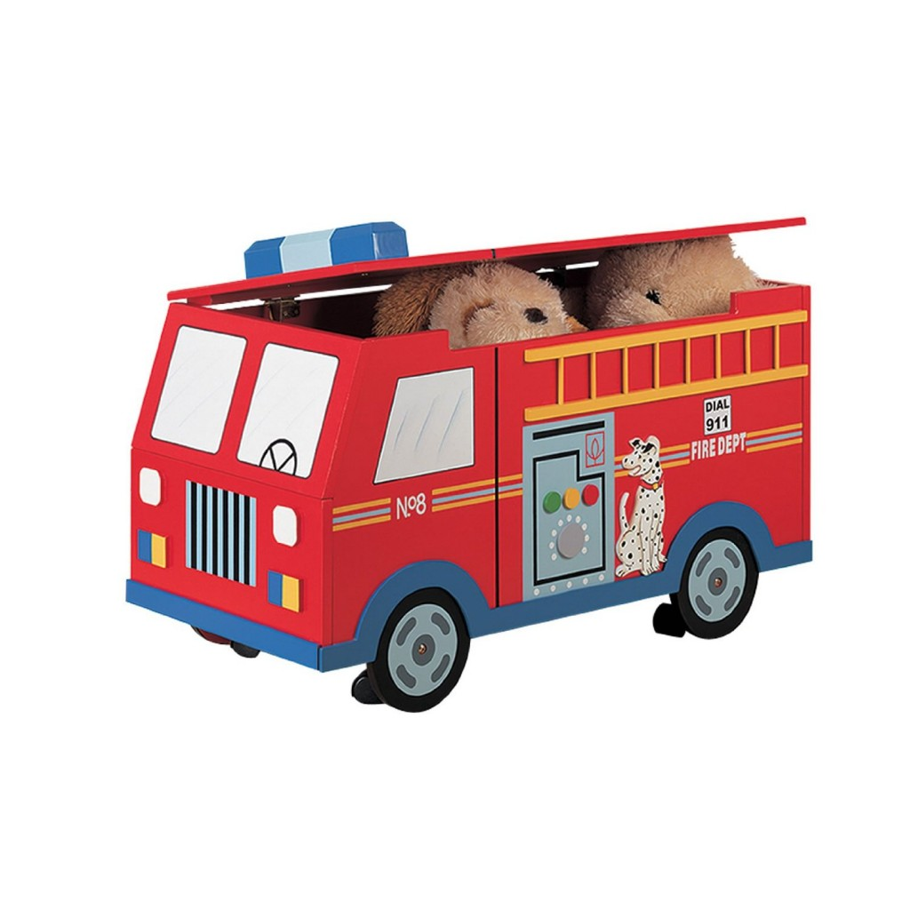 Cute Fire Truck Bedroom Decor Ideas For Boys