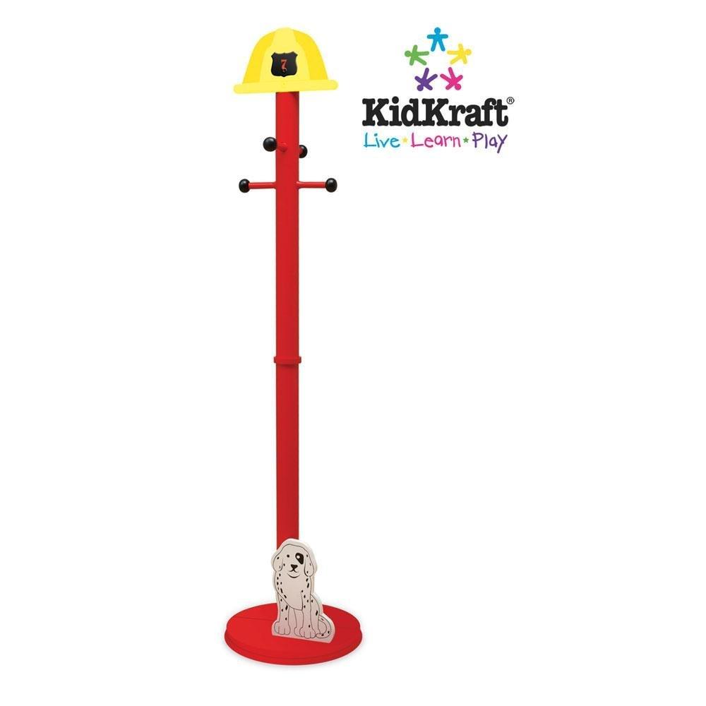KidKraft Firetruck Clothespole