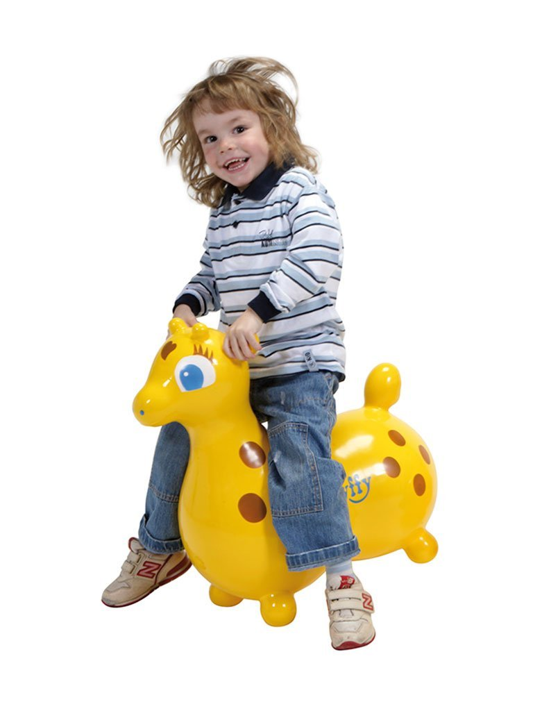 fun giraffe hopping toy