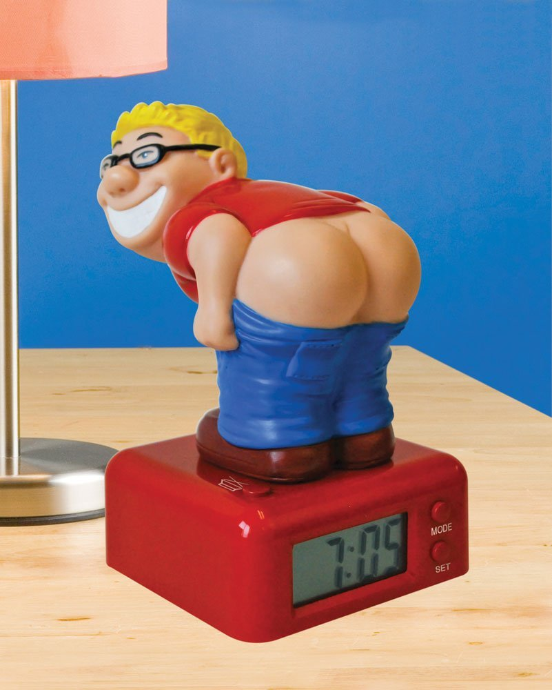 Funny Secret Santa Gift Idea Farting Alarm Clock