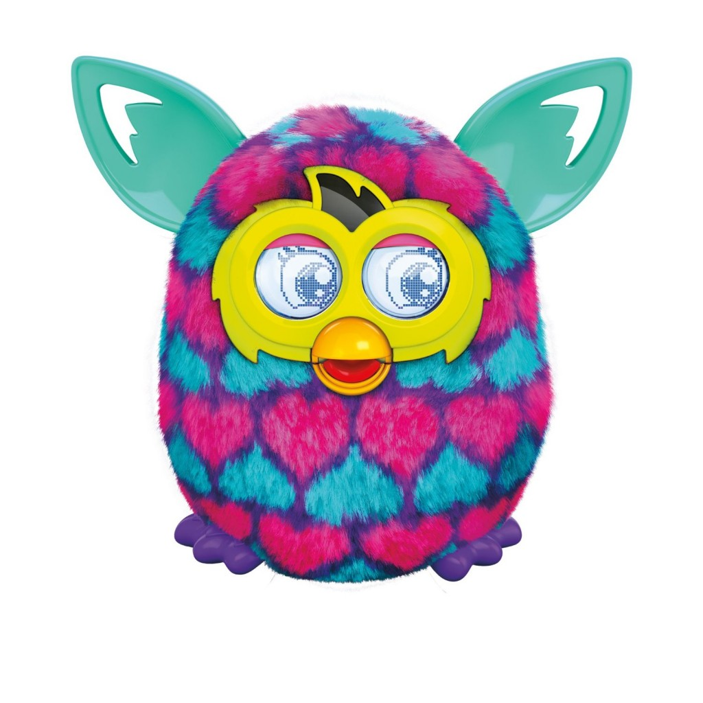 Furby Pink and Blue Hearts