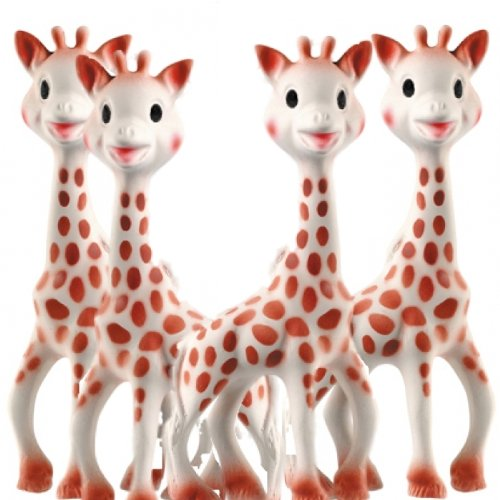 Sophie the Giraffe Teether Set of 4