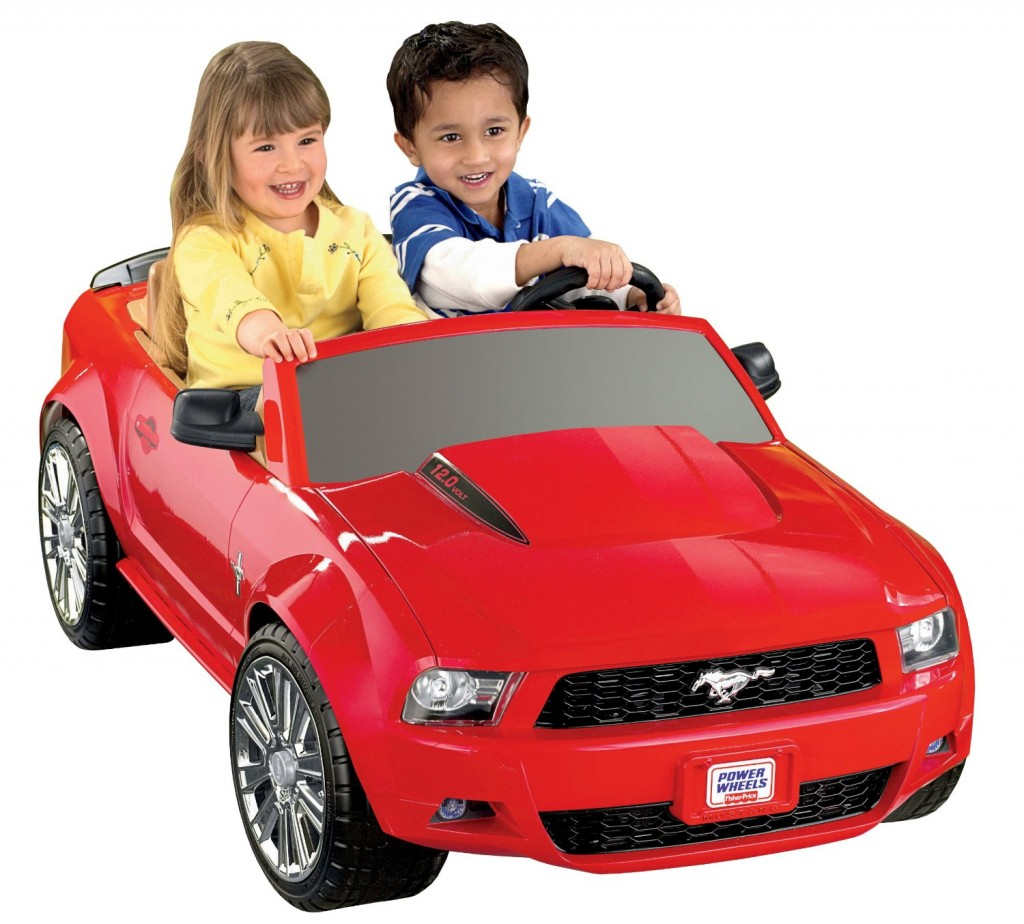 red Ford Mustang for kids