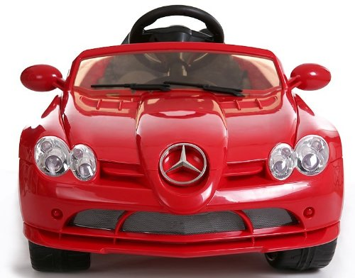 cute red Mercedes for toddlers