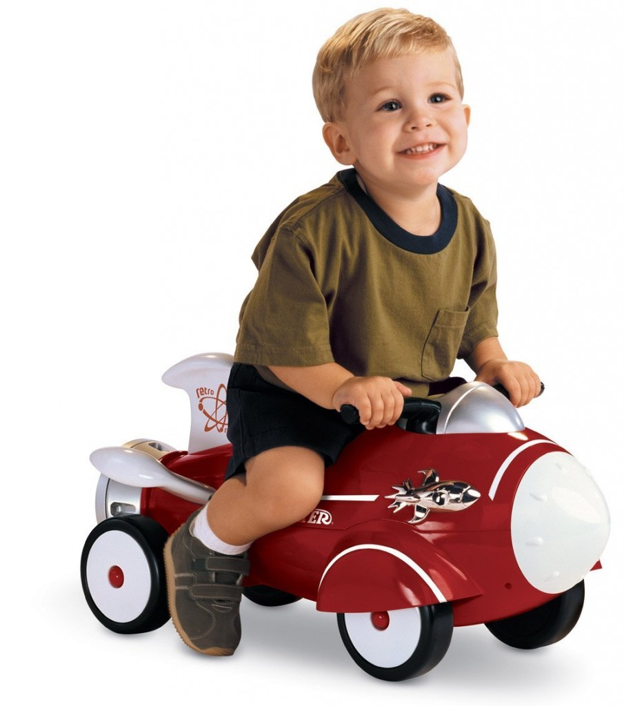 foot powered riding rocket for toddlers