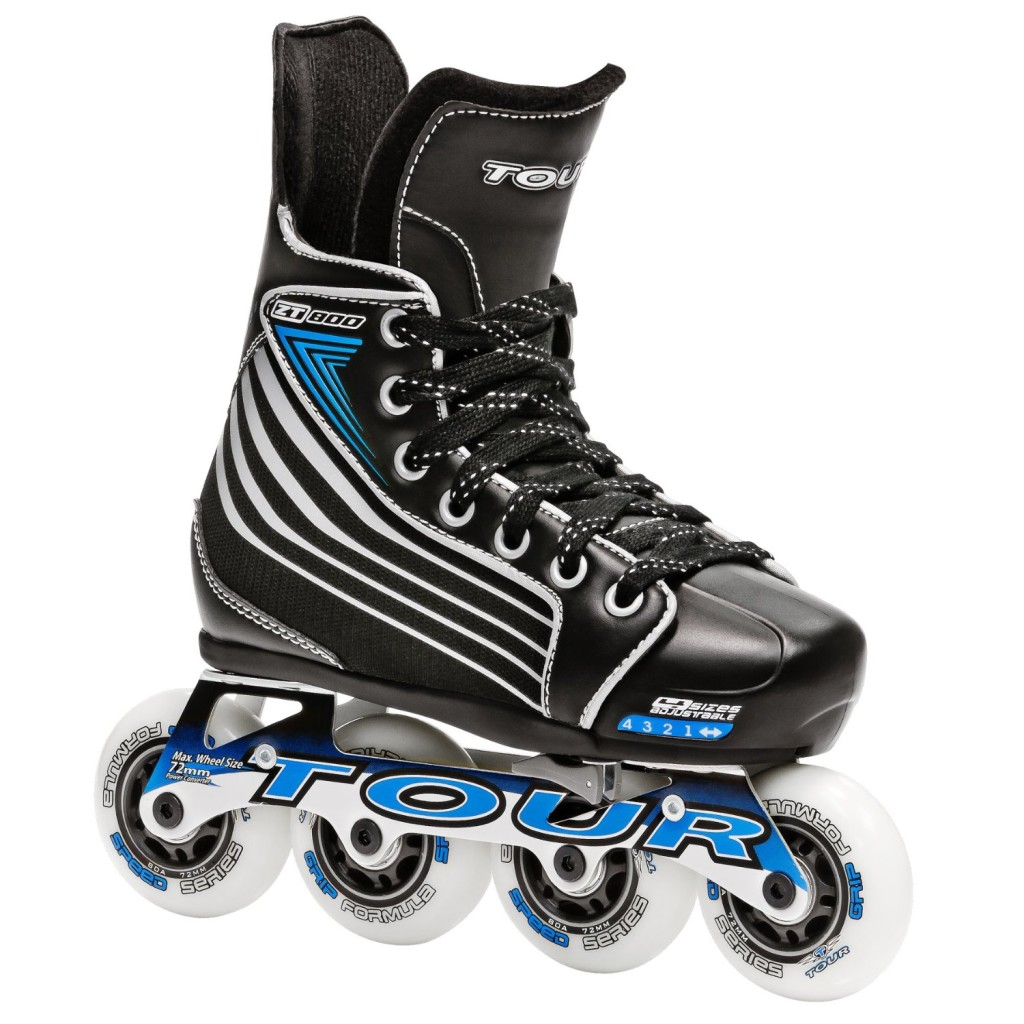 Cool Adjustable Hockey Skates for Boys