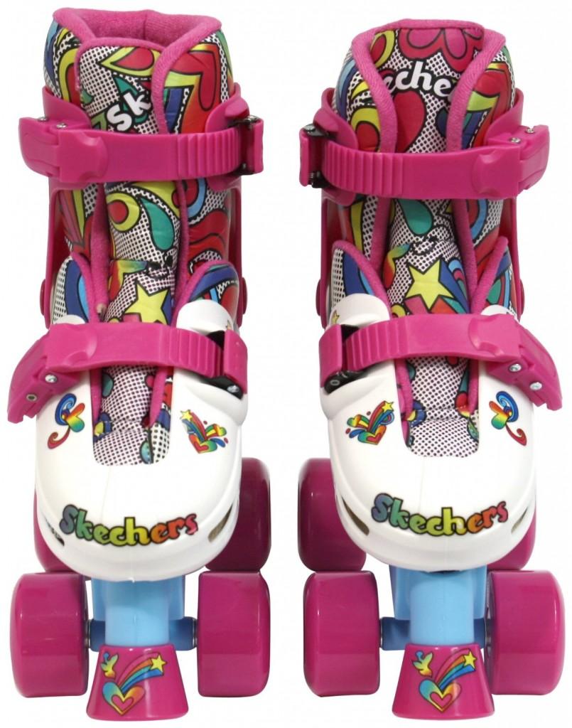 Adjustable Quad Roller Skates for Girls