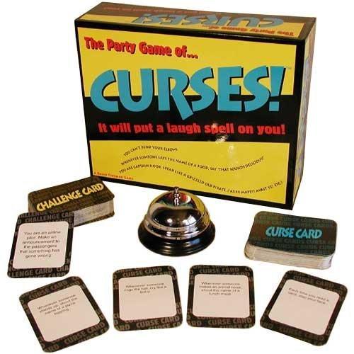 Curses Fun Board Game