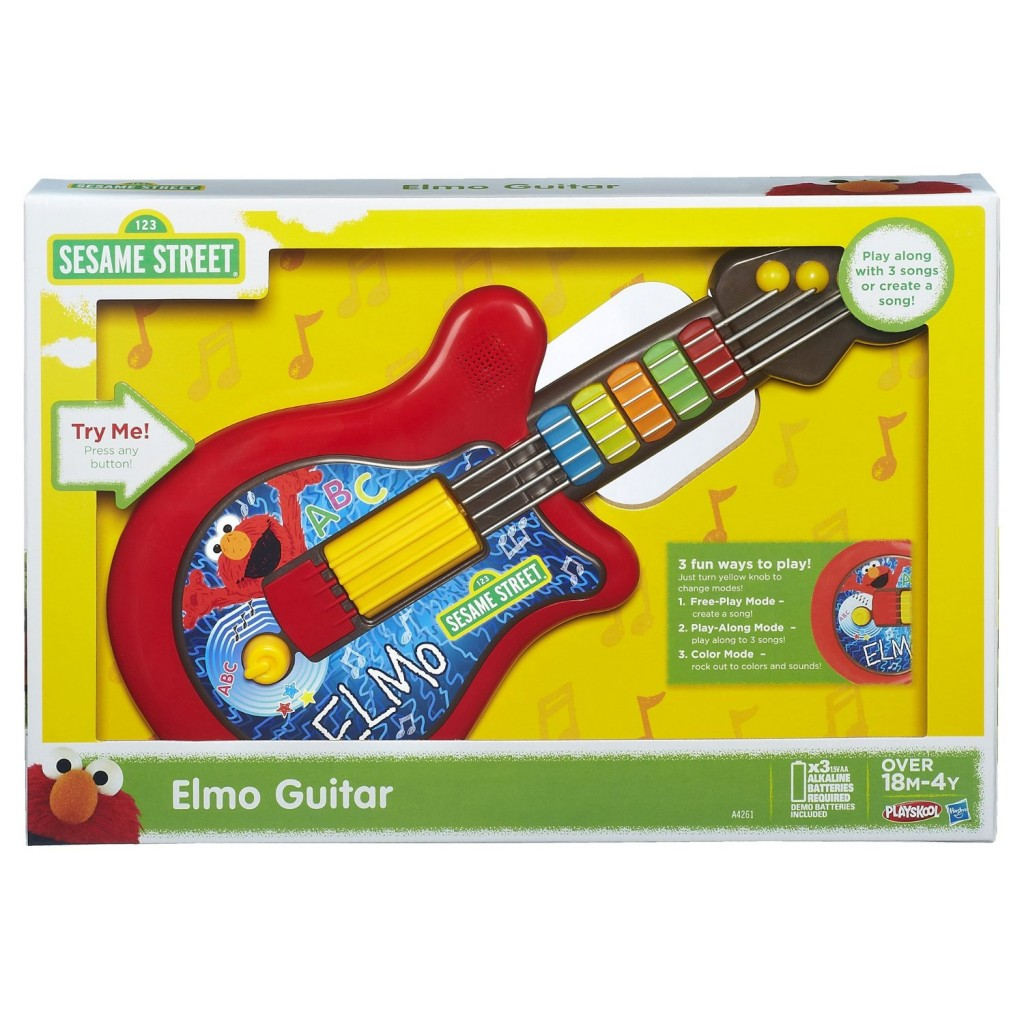 Cute Sesame Street Elmo Guitar for Toddlers
