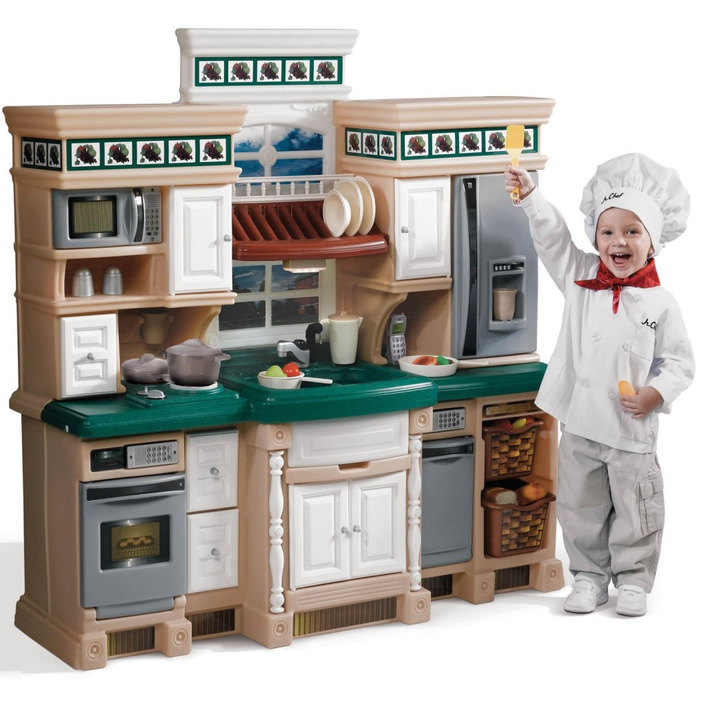 very realistic play kitchen set for kids pictures to pin on pinterest