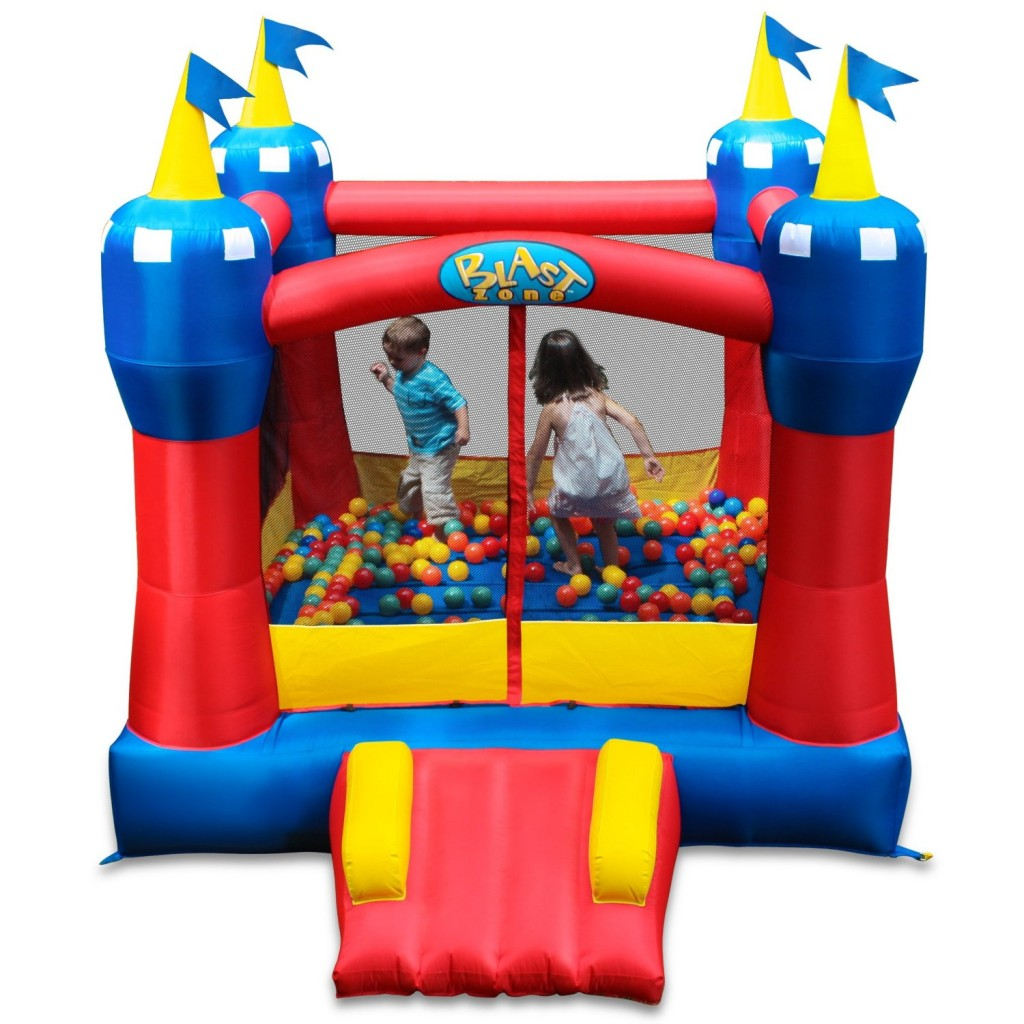 Blast Zone Magic Castle Inflatable Bouncer