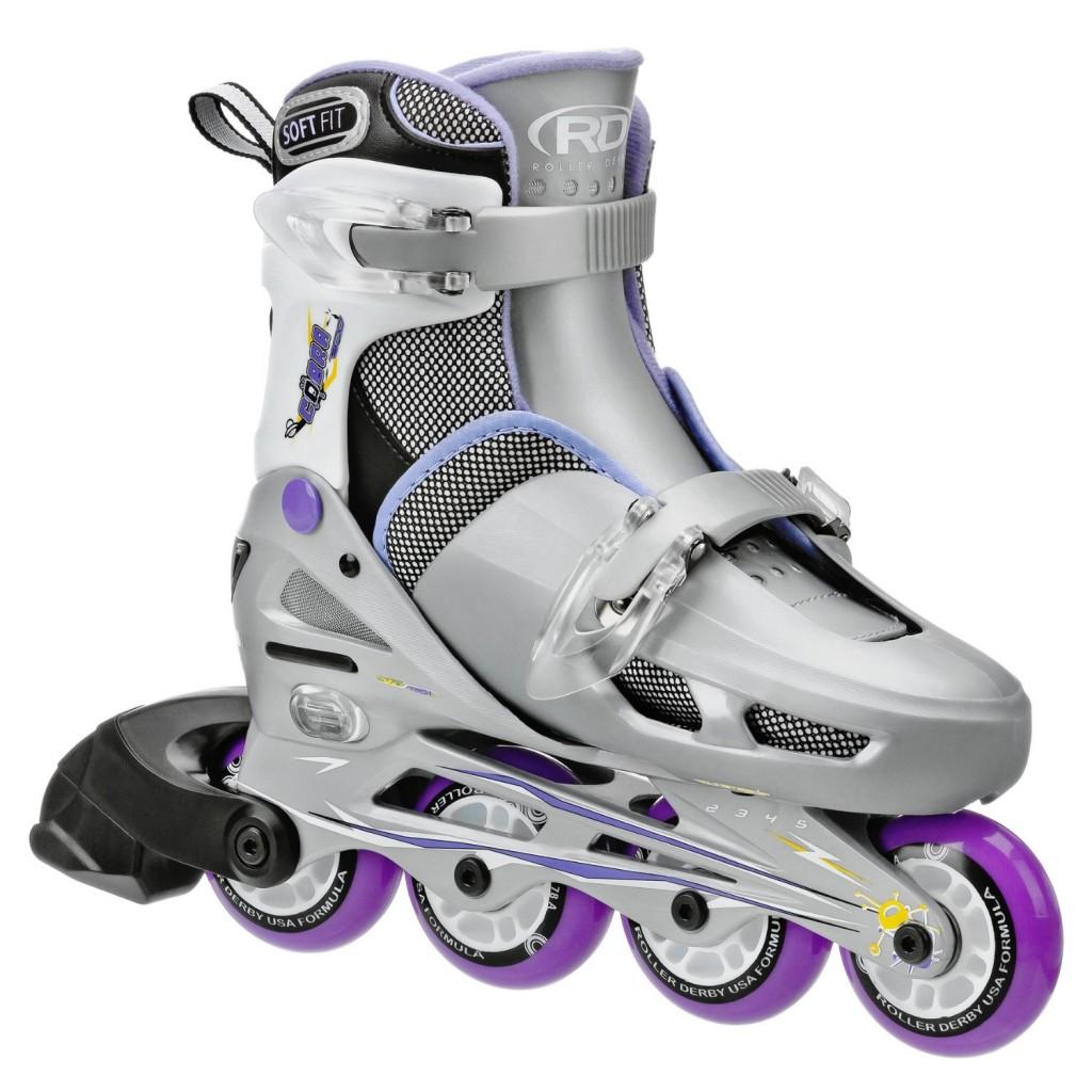 Roller Derby Girls Cobra Adjustable Inline Skates