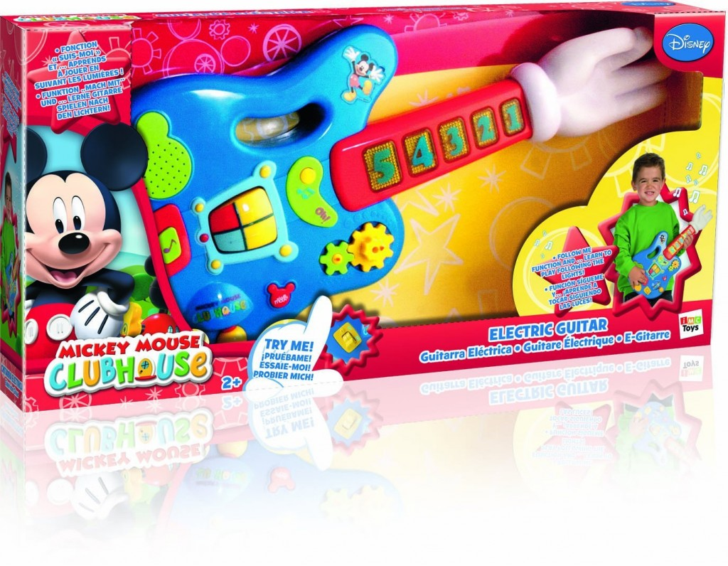 Cute Mickey Toy Guitar for Toddlers!