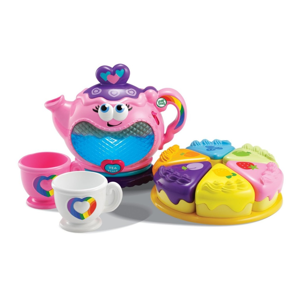 cute musical tea set